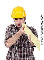 Construye una tabla de madera