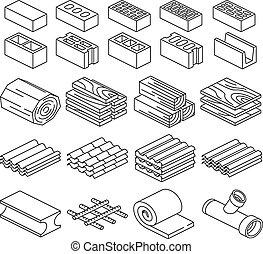 Construyendo materiales de construcción. Icos 3D
