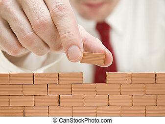 Construyendo una pared