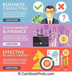 Consulta de negocios, bolsa de valores