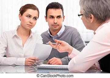 Consulta de planificación financiera