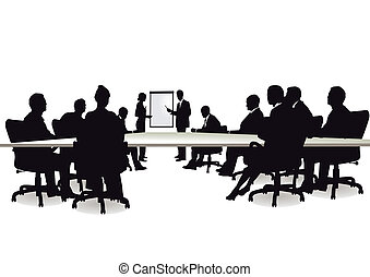 Consultando y discutiendo
