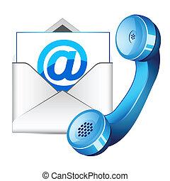 Contacta con nosotros icono