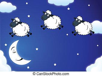 Contando ovejas