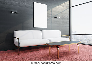 contemporáneo, sala de espera