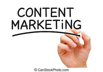 contenido, mercadotecnia