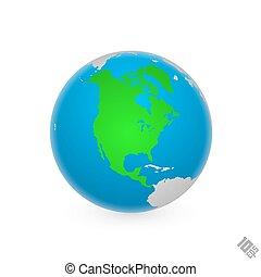 Continente Norteamérica