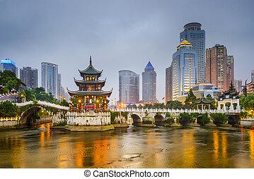contorno, china, guiyang