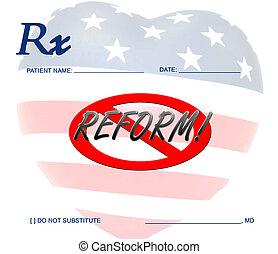 Contra la reforma de la salud