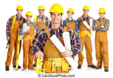 Contratistas obreros