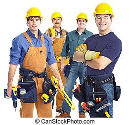 Contratistas trabajadores