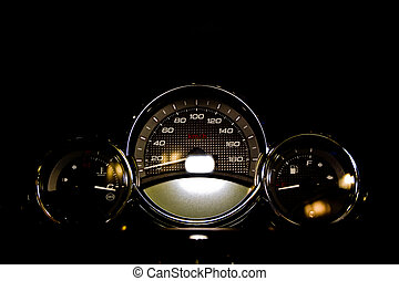control, motocicleta, panel