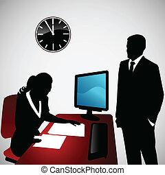 Conversación de negocios