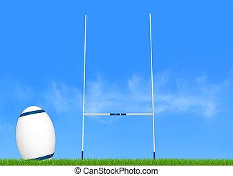 conversión, rugby
