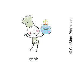 Cook.