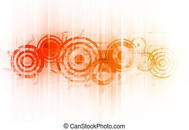 Cool party abstract