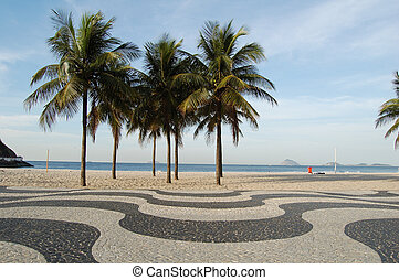 copacabana, acera