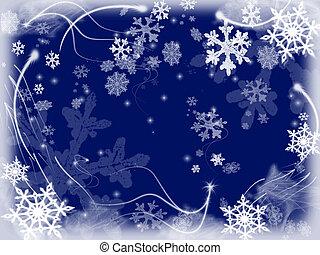 copos de nieve, 3