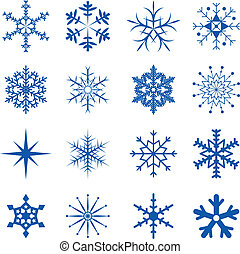 copos de nieve, parte