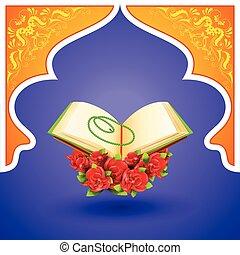 Corán en el fondo de Ed Mubarak