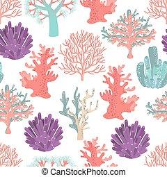 Corales sin costura