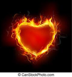 Corazón ardiente