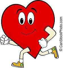 corazón, corriente