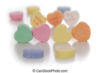 Corazón de caramelo de San Valentín