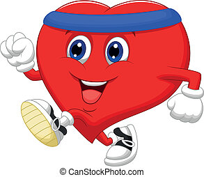 Corazón de Cartón corriendo para curarse