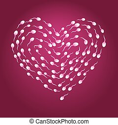 Corazón de esperma