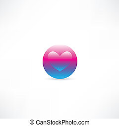 Corazón en círculo