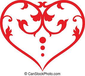 Corazón giratorio