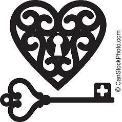 corazón, llave maestra