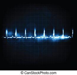 corazón que controla, tasa