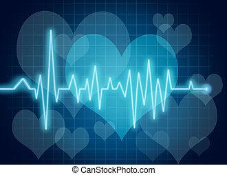 corazón, símbolo, salud