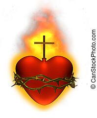 corazón, sagrado