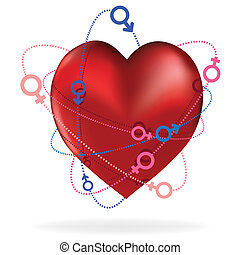 corazón, valentine