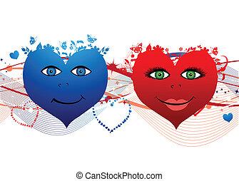 Corazones de San Valentín