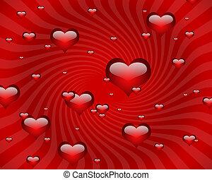 corazones, gráfico