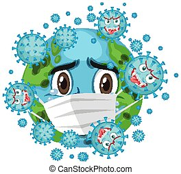 corona, global, pandemia, virus