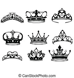 corona, iconos