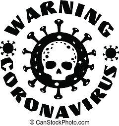 coronavirus, cráneo