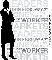 corporación mercantil de mujer