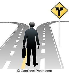 corporación mercantil la decisión, señal, persona, direcciones, camino