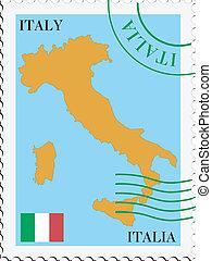 Correo desde Italia