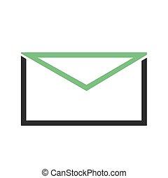 correo, mensaje