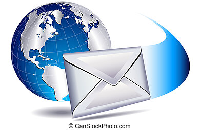 Correo por correo al mundo