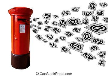 Correo postal 3D
