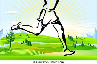 Corriendo por todo el país