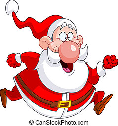 Corriendo Santa